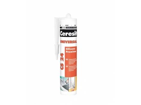 Герметик силіконовий, універсальний білий Ceresit CS24 - , 280мл