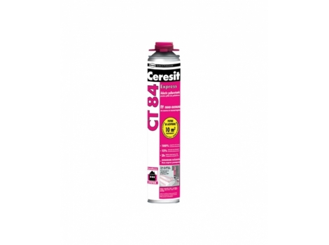 Піна для приклейки пінопласту Ceresit CT 84  -  , 850 мл