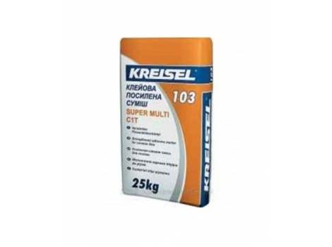KREISEL  103  Клеюча суміш для плитки, Super -multi 25