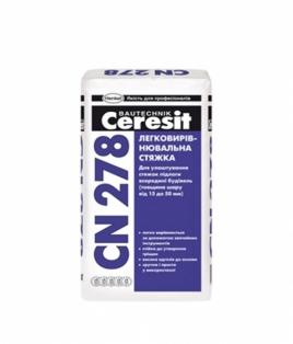 Ceresit CN278  - Легковирівнююча стяжка (15-50 мм)