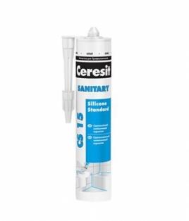 Ceresit CS15 - Герметик силіконовий, санітарний