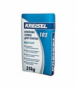 KREISEL  102  Клеюча суміш для плитки, 25 кг