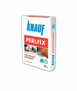 Perlfix клей (сухий), монтажний гіпс, 30 кг