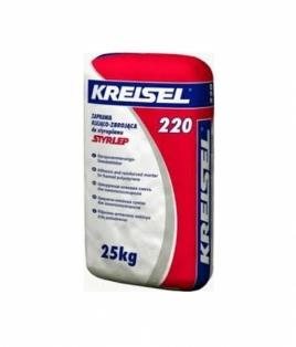 KREISEL  220  Клеюча суміш для пінопласту 25 кг